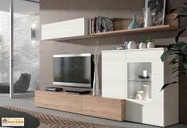 meuble tv caché ensemble meuble tv mural berlin 2 coloris ramis