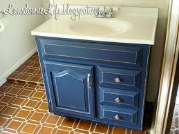 How To Paint Bathroom Cabinets Dark Brown 100 Bathroom Challenge Painting The Vanity Lansdowne Life