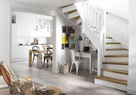 bureau sous escalier design interieur aménagement sous escalier coin bureau sous