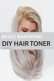 best otc hair bleach brass banishing diy hair toner for blondes brassy hair hair