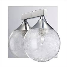 Bathrooms Awesome Bathroom Light Shades Chrome 3 Light Vanity