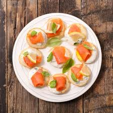 canapes recipe appetizers flavorful smoked salmon canapes recipe recipe