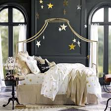 Gold Canopy Bed Maison Canopy Bed Pbteen
