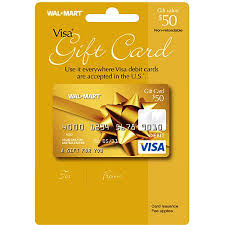 reloadable gift cards 50 walmart visa gift card service fee included walmart