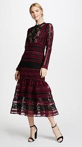 midi dress costarellos midi dress with flared skirt shopbop