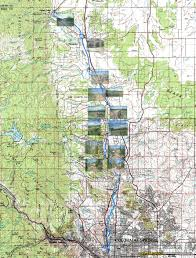 Colorado Springs Trail Map by Monument Creek And New Santa Fe Trails
