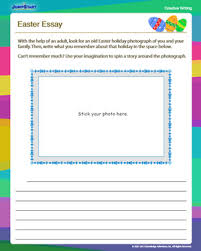 easter essay free creative writing worksheet for 3rd grade