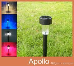 wholesale brand led solar lights solar lawn light plastic garden