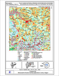 Pune India Map by Groundwater Prospect Mapping For Rajiv Gandhi National Drinking