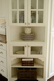 Kitchen Glass Cabinets by Happy Homemaker Me April 2011