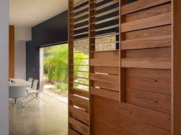 Banister Wall Wood Slat Wall Staircase Modern With Accent Wall Banister Blue