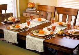celebrate in style with a thanksgiving or table runner
