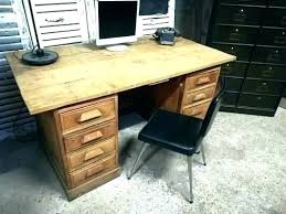 bureau en bois ancien bureau bois ancien a bureau vintage bureau ecolier bois ancien