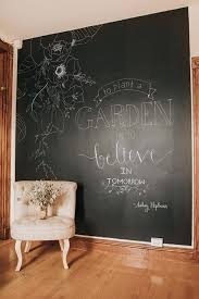poptalk a peel and stick decorating blog how to temporary chalkboard wall hand lettered quote