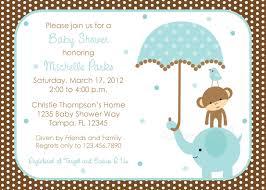 Free Baby Shower Invitation Templates Baby Shower Invitations Astounding Elephant Baby Shower