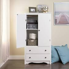 Closet Walmart by White Armoire With Drawers Antique Identification Armoires Bedroom