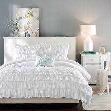 Ruffle Bedding Set Home Essence Apartment Marley Soft Comforter Set Walmart