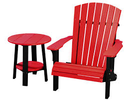 Two Dogs Designs Patio Furniture - deck chairs amish merchant