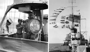 Flag Signals Meaning Visual Signalling In The Royal Australian Navy Royal Australian Navy