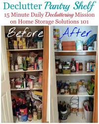 kitchen food storage cupboard how to declutter pantry food cupboards