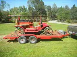 Landscape Trailer Basket by Model T Ford Forum Need Advice On Trailer To Carry A Mtf