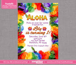 4 marvelous hawaiian birthday party invitations srilaktv com