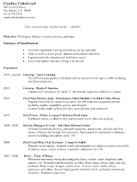 Prep Cook Duties For Resume Food Prep Resume Resume Templates