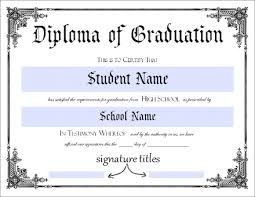 online for highschool graduates high school graduation certificate template free homeschool