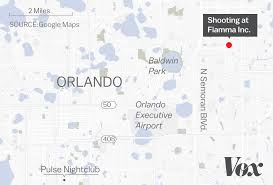 Orlando Florida Map by Orlando Florida Workplace Shooting What We Know Vox