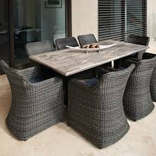 melton craft pompeii travertine table outdoor furniture gallery