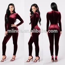 skin jumpsuit custom made jumpsuit plus size sleeve leg zipper back