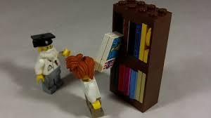 how to build lego bookshelf youtube