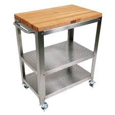 kitchen carts cucina culinarte maple removable top towel bar