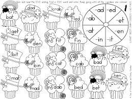 st patrick u0027s day cvc word spinner worksheets u2013 dorky doodles