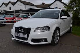 used audi a3 s line 1 6 cars for sale motors co uk