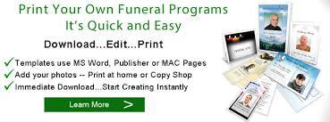 funeral programs printing funeral programs printing print funeral program