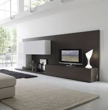 decorations attractive tv wall units living room with shelves