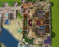 sims 3 mansion floor plans mod the sims the fantasy mansion no cc