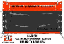 Turbidity Curtains Siltdam Turbidity Barrier