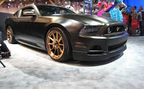 2013 Ford Mustang Gt Black 2013 Ford Mustang Gt High Gear From Sema Is Highlighted On Latest