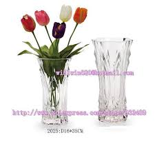 Large Plastic Vases Wholesale Factory Fancy Bulk Wholesale Big Mini Large Small Tall Round Glass