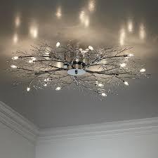 possini euro design lighting modern branch chrome possini euro design ceiling light laras