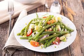 cuisiner haricot vert recette salade printanière aux haricots verts