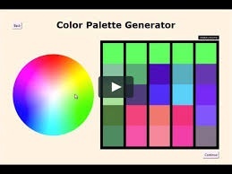 color palette generator python demo on vimeo