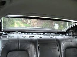 Rear Window Blinds For Cars Rear Window Shade Passat B6 Youtube