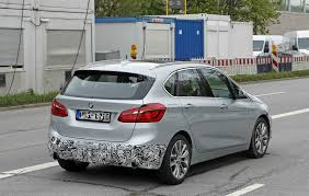 2018 bmw 2 series active tourer spied with cool new headlights
