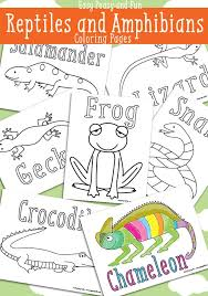 Reptile Coloring Pages Free Printable Easy Peasy And Fun Reptile Coloring Pages