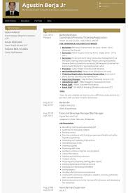 Resume Examples For Bartender by Bartender Resume Samples Visualcv Resume Samples Database