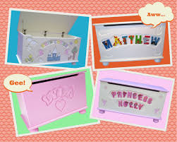personalised toy boxes from pitter patter furniture handmade talks