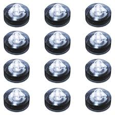 12ct submersible battery operated led lights white target